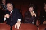 CARLO AZEGLIO E FRANCA CIAMPI - TEATRO DELL'OPERA ROMA  1998