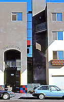 Rob W. Quigley: 202 Island Inn, a Single Room Occupancy (SRO), downtown San Diego 1992. Photo '92.