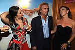 PAOLO PAZZAGLIA CON FRANCESCA RETTONDINI E NAIKE  RIVELLI<br /> PARTY DI PAOLO PAZZAGLIA<br /> PALAZZO FERRAJOLI ROMA 2009