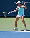 August  15, 2019:  Ashleigh Barty (AUS) defeated Anett Kontaveit (EST) 4-6, 7-5, 7-5, at the Western & Southern Open being played at Lindner Family Tennis Center in Mason, Ohio. ©Leslie Billman/Tennisclix/CSM