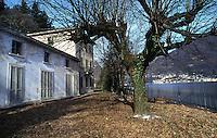 funicolare Lanzo d'Intelvi, (CO),  Santa Margherita, lago di Lugano, 1907-1977. Ora abbandonata.