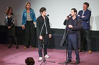 LAURE CALAMY, JUSTINE TRIET, VINCENT LACOSTE, MELVIL POUPAUD, FREDERIC BONNAUD - PROJECTION DU FILM 'VICTORIA' A LA CINEMATHEQUE FRANCAISE A L'OCCASION DE LA REPRISE DE LA SELECTION CANNOISE DE LA SEMAINE DE LA CRITIQUE