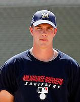 Eric Arnett - Milwaukee Brewers 2009 Instructional League.Photo by:  Bill Mitchell/Four Seam Images..