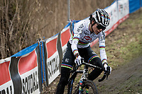 cx world champion Ceylin del Carmen Alvarado (NED/Alpecin-Fenix) quickly controls the race from the front<br /> <br /> 2021 Flandriencross Hamme (BEL)<br /> women's race<br /> <br /> ©kramon