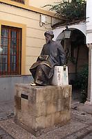 Spanien, Andalusien, Denkmal des Maimonides in Cordoba