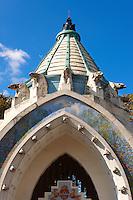Budapest Zoo & Botanical Garden (F?városi Állat- és Növénykert) art nouveau entrance. Hungary