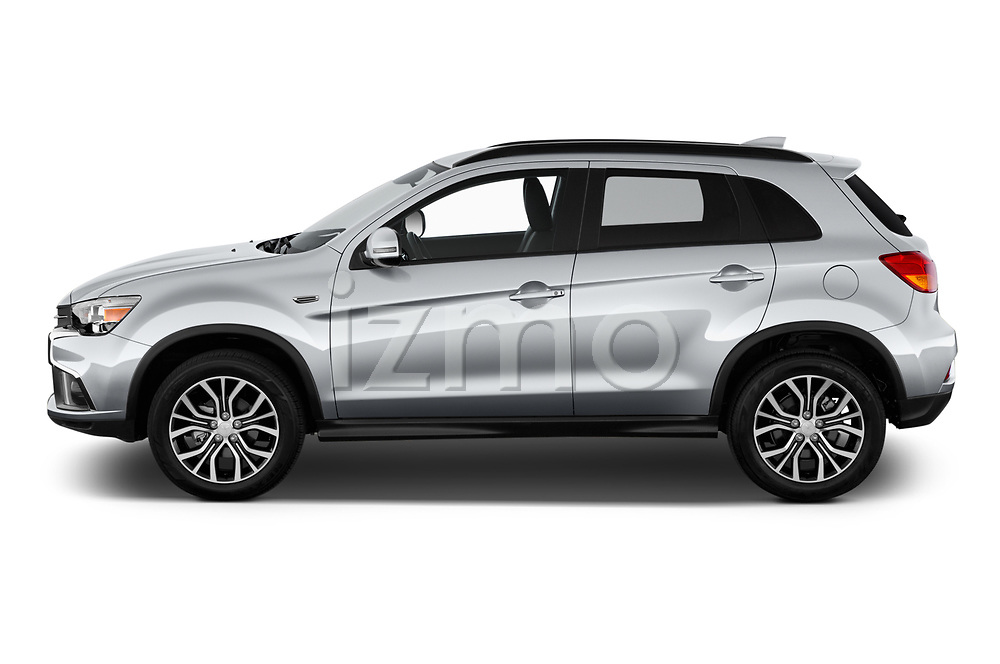 Car Driver side profile view of a 2019 Mitsubishi Outlander-Sport GT 5 Door SUV Side View