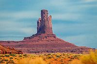 Beautiful Monument Valley in Arizona.