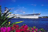 USS Missouri battleship, Pearl Harbor permanant docking