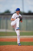 Isaac Milburn (30) during the WWBA World Championship at Lee County Player Development Complex on October 10, 2020 in Fort Myers, Florida.  Isaac Milburn, a resident of Lexington, Kentucky who attends Lexington Catholic High School, is committed to Kentucky.  (Mike Janes/Four Seam Images)