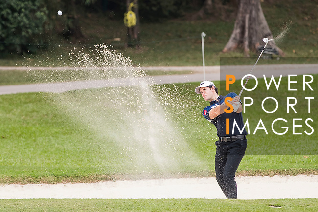 Ricardo Gouveia of Portugal hits a shot during the day four of UBS Hong Kong Open 2017 at the Hong Kong Golf Club on 26 November 2017, in Hong Kong, Hong Kong. Photo by Yu Chun Christopher Wong / Power Sport Images