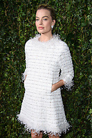 Margot Robbie<br /> arriving for the 2018 Charles Finch & CHANEL Pre-Bafta party, Mark's Club Mayfair, London<br /> <br /> <br /> ©Ash Knotek  D3380  17/02/2018