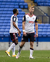 Bolton Wanderers' Eoin Doyle rues a near miss <br /> <br /> Photographer Andrew Kearns/CameraSport<br /> <br /> The EFL Sky Bet League Two - Bolton Wanderers v Oldham Athletic - Saturday 17th October 2020 - University of Bolton Stadium - Bolton<br /> <br /> World Copyright © 2020 CameraSport. All rights reserved. 43 Linden Ave. Countesthorpe. Leicester. England. LE8 5PG - Tel: +44 (0) 116 277 4147 - admin@camerasport.com - www.camerasport.com