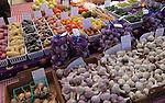 Fresh produce is on display at a farmer's market. (DOUG WOJCIK MEDIA)