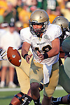 Wofford Terriers quarterback James Lawson (18) in action during the game between the Wofford Terriers and the Baylor Bears at the Floyd Casey Stadium in Waco, Texas. Baylor leads Woffard 38 to 0 at halftime.