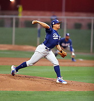 Gerardo Carrillo - Los Angeles Dodgers 2019 spring training (Bill Mitchell)