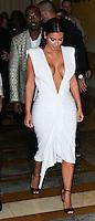 LAS VEGAS, NV, USA - OCTOBER 24: Kanye West, Kim Kardashian arrive at Kim Kardashian's 34th Birthday Celebration held at TAO Las Vegas on October 24, 2014 in Las Vegas, Nevada, United States. (Photo by Xavier Collin/Celebrity Monitor)