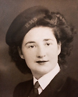 BNPS.co.uk (01202 558833)<br /> Pic: DianaSullivan/BNPS<br /> <br /> Pictured: Lorna Cockayne during World War II.<br /> <br /> A brilliant Bletchley Park codebreaker who enabled the Allies to read crucial messages before Adolf Hitler received them has today been awarded the prestigious Legion d'Honneur.<br /> <br /> Lorna Cockayne, now aged 96, worked on the 'Colossus' computer which cracked the Lorenz code used by German generals to brief the Nazi leader.<br /> <br /> She fed in tape and counted letters to decipher intercepted messages for eight hours daily without a break as the giant machine never stopped.<br /> <br /> The intelligence she uncovered was particularly important in the lead-up to the D-Day landings in June 1944.