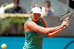 CoCo Vandeweghe during Madrid Open Tennis 2015 match.May, 5, 2015.(ALTERPHOTOS/Acero)