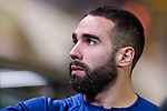 Daniel Carvajal Ramos of Real Madrid in training prior to the La Liga match between Villarreal CF and Real Madrid at the Estadio de la Cerámica on 26 February 2017 in Villarreal, Spain. Photo by Maria Jose Segovia Carmona / Power Sport Images