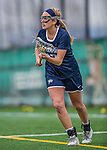 25 April 2015: University of New Hampshire Wildcat Attacker Nicole Grote, a Junior from Ellicott City, MD, in action against the University of Vermont Catamounts at Virtue Field in Burlington, Vermont. The Lady Catamounts defeated the Lady Wildcats 12-10 in the final game of the season, advancing to the America East playoffs. Mandatory Credit: Ed Wolfstein Photo *** RAW (NEF) Image File Available ***