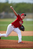 St. Louis Cardinals pitcher Matt Pearce (36) during a Minor League Spring Training game against the New York Mets on March 31, 2016 at Roger Dean Sports Complex in Jupiter, Florida.  (Mike Janes/Four Seam Images)