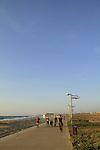 Israel, Tel Aviv-Yafo, the promenade north of the Yarkon river