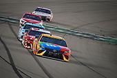 #18: Kyle Busch, Joe Gibbs Racing, Toyota Camry M&M's Toyota Camry, #3: Austin Dillon, Richard Childress Racing, Chevrolet Camaro AAA