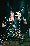 WASP -Randy Piper- performing live at the Tower Theater in Phila, Penn Jan 1985.