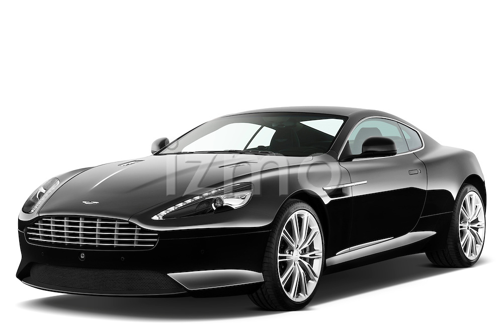 Front three quarter view of a 2012 Aston Martin Virage .