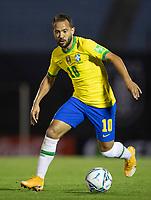17th November 2020; Centenario Stadium, Montevideo, Uruguay; Qatar 2022 qualifiers; Uruguay versus Brazil; Éverton Ribeiro of Brazil