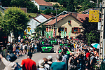 The publicity caravan passes by before the race during Stage 5 of the 2019 Tour de France running 175.5km from Saint-Die-des-Vosges to Colmar, France. 10th July 2019.<br /> Picture: ASO/Thomas Maheux | Cyclefile<br /> All photos usage must carry mandatory copyright credit (© Cyclefile | ASO/Thomas Maheux)
