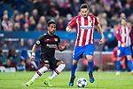 Jorge Resurreccion Merodio, Koke (r), of Atletico de Madrid fights for the ball with Wendell of Bayer 04 Leverkusen during their 2016-17 UEFA Champions League Round of 16 second leg match between Atletico de Madrid and Bayer 04 Leverkusen at the Estadio Vicente Calderon on 15 March 2017 in Madrid, Spain. Photo by Diego Gonzalez Souto / Power Sport Images