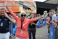 Actress and tv personality Denise Van Outen during The 2017 Celebrity Cup at the Celtic Manor Resort, Newport, South Wales, 01.07.2017<br /> <br /> <br /> Jeff Thomas Photography -  www.jaypics.photoshelter.com - <br /> e-mail swansea1001@hotmail.co.uk -<br /> Mob: 07837 386244 -