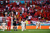 COPENHAGEN, DENMARK - JUNE 17 : Romelu Lukaku forward of Belgium BLM during the 16th UEFA Euro 2020 Championship Group B match between Denmark and Belgium on June 17, 2021 in Copenhagen, Denmark, 17/06/2021  <br /> Photo Photonews / Panoramic / Insidefoto <br /> ITALY ONLY