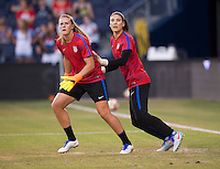 Kansas City, KS - July 22, 2016: The USWNT defeated Costa Rica 4-0 during their friendly at Children's Mercy Park.