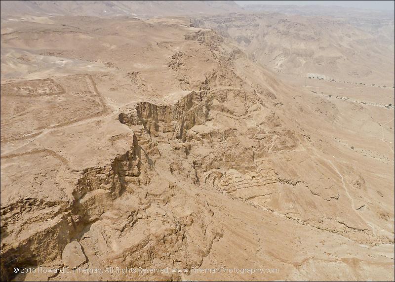 Looking Down from Masada