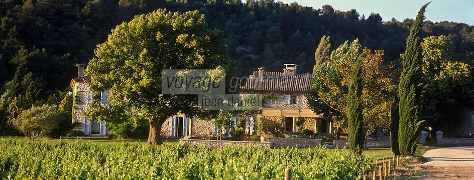 Europe/France/Provence-Alpes-Cote d'Azur/84/Vaucluse//Menerbes:  La Bastide de Marie [Non destiné à un usage publicitaire - Not intended for an advertising use]