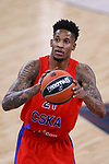 Turkish Airlines Euroleague.<br /> Final Four - Vitoria-Gasteiz 2019.<br /> Semifinals.<br /> CSKA Moscow vs Real Madrid: 95-90.<br /> Will Clyburn.