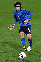 Sandro Tonali of Italy in action during the friendly football match between Italy and Estonia at Artemio Franchi Stadium in Firenze (Italy), November, 11th 2020. Photo Andrea Staccioli/ Insidefoto