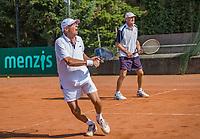 Etten-Leur, The Netherlands, August 27, 2017,  TC Etten, NVK, Men's doubles: Peter Vaarties (L) and Ben de Jel.<br /> Photo: Tennisimages/Henk Koster