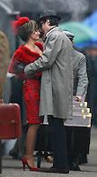 Photo by ©  Stephen Daniels  <br /> Penelope Cruz & Daniel Day Lewis filming NINE