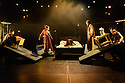 Edinburgh, UK. 05.08.2017. The Pleasance holds their gala press launch to start the Edinburgh Festival Fringe season. Picture shows: The cast of The Dreamer in an extract from their show, by Shanghai Dramatic Arts Centre in association with Gecko. Photograph © Jane Hobson.