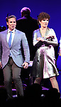"""Hugh Panaro and Lucie Arnaz during the curtain call bows for """"They're Playing Our Song"""" Concert Benefit for The Actors Fund at the Music Box Theatre on February 11, 2019 in New York City."""