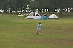 flying kites at Lake Sommerville State Park