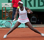 Sloane Stephens (USA)  wins at Roland Garros in Paris, France on June 1, 2012
