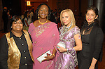 From left: Sutapa Ghosh, Duni Hebron, Carolyn Farb and Manisha Koirala at the Indian Film Festival Celebrity Gala at the InterContinental Hotel Saturday evening Sept. 26,2009. (Dave Rossman/For the Chronicle)