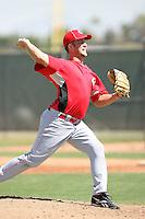 Brad Boxberger, Cincinnati Reds minor league spring training..Photo by:  Bill Mitchell/Four Seam Images.