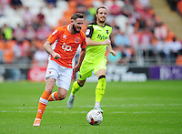 Blackpool's Mark Yeates<br /> <br /> Photographer Kevin Barnes/CameraSport<br /> <br /> Football - The EFL Sky Bet League Two - Blackpool v Exeter City - Saturday 6th August 2016 - Bloomfield Road - Blackpool<br /> <br /> World Copyright © 2016 CameraSport. All rights reserved. 43 Linden Ave. Countesthorpe. Leicester. England. LE8 5PG - Tel: +44 (0) 116 277 4147 - admin@camerasport.com - www.camerasport.com