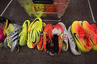 Photo after the  match Mexico vs Chile America Cup 2016 Centennial corresponding to Quarters Finals at Levis Stadiumn, in Santa Clara, California.<br /> <br /> Foto previo del partido Mexico vs Chile de la Copa America Centenario 2016 correspondiente a los Cuartos de Final en el Estadio Levis, en Santa Clara, California, en la foto: Vestidor Mexico<br /> <br /> 18/06/16/MEXSPORT/DAVID LEAH